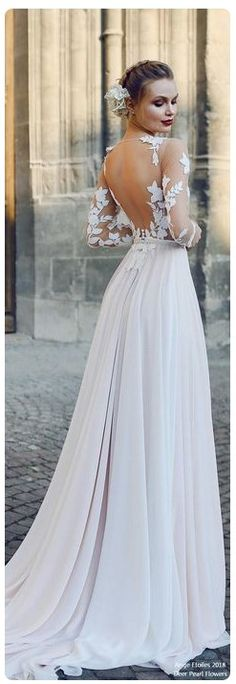 Beatiful long Wedding Dresses