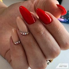 Attention to the semi-permanent varnish - My Nails Sexy Nails, Cute Nails, Pretty Nails, Two Color Nails, Nail Colors, Elegant Nails, Stylish Nails, Pastel Nails, Pink Nails