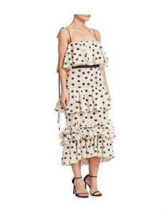 Johanna Ortiz Polka Dot Dress. BUY NOW!!! #BevHillsMag #beverlyhillsmagazine #fashion #shop #style #shopping
