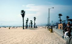 """""""Looking north from Venice Beach, CA, circa 1984. Another one from the family archives. """""""