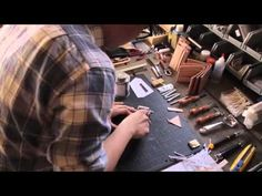 How to make home-made #leather #wallets