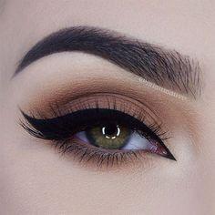 brown smokey eye  ~  we ❤ this! moncheribridals.com