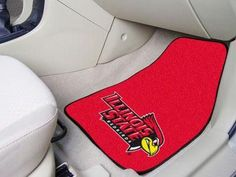 Illinois State University 2 Piece Front Car Mats
