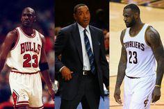 Isiah Thomas prefiere a LeBron James antes que a Michael Jordan