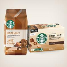 Flavored Coffees | Starbucks® Coffee at Home Roasting Coffee At Home, Cinnamon Dolce, Coffee Packaging, Frappe, Starbucks Coffee, Natural Flavors, Keurig, Espresso Machine, Mocha