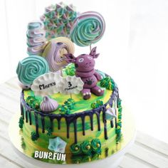 Cool funny cake