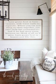 New Breakfast Nook Sign - The Wood Grain Cottage