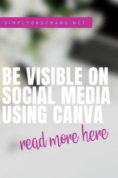 Without visibility, you really have no presence on social media, at all. Have your visuals created for you by a creative designer (me) or use Canva to create your own. But be visible! I Dare You, Can You Be, Just Do It, You Really, Authentic Self, Social Media Images, It's Meant To Be, Perfect Image