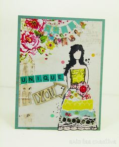 erin lee creative: unique you.----would be a great inspiration piece for a page!