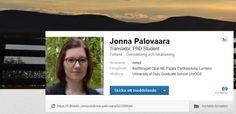 SOSIAALINEN MEDIA: Käy kurkkaamassa ansioluetteloni LinkedInissä. / Kolla gärna min meritförteckning i LinkedIn.