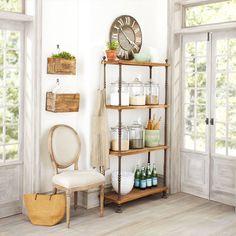$399 -French Shopkeeper's Shelves