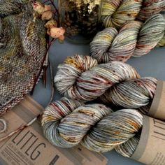 100% Superwash Merino - 182 yards (166m) - 100 gram skein Special Bulk buying price of €20.00 per skein and flat rate international shipping rate of €5.95. Mon Manet Aran Sweater Pre-Order - Yarn will be sent out Monday 26th Feb Resilience is a light to dark teal green colorway with moss green and nut speckles. Pattern is from Issue 4 of the Laine Magazine. Click here to purchase the pattern separately: The size requirements are: Sizes for Mon Manet: XS (S, M, L, XL, 2XL) Recommended e...