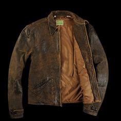 1930s Levi's leather jacket.