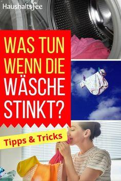 Was tun, wenn die Wäsche stinkt und wie kannst du ihn beseitigen? Auf Haushaltsfee.org gibt es die Antworten für eine gut riechende Wäsche nach dem Waschen.