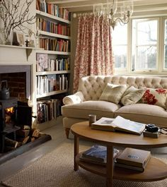 A cosy and comfortable home. Surround myself with things I love.