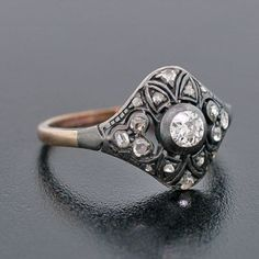 A vintage ring would be perfect choice  this spring :)