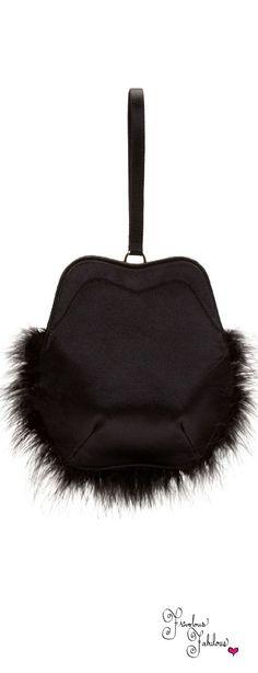 Simone Rocha Black Tie Affair, Vintage Purses, Black White Red, Luxury Shoes, Bagan, Beautiful Bags, Evening Bags, Purses And Handbags, Leather