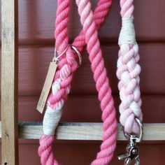 Petal Pink Ombre Dog Leashes and Collars by Forever Mootsy.  Shop our SALE going on now! Forever Mootsy's products are available in every size and color.  Looking for something special? We do custom requests too.