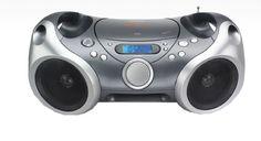 Memorex Sport CD/MP3 portable Boombox with AM/FM Radio and Digital Display/ AUX input Memorex