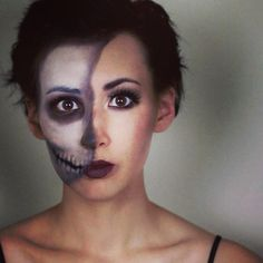 Halloween Makeup Ideas | Beauty High LOVE THIS. Not sure what outfit to wear with it though....
