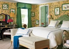 Traditional Bedroom by Miles Redd and Knight Architecture in Greenwich, Connecticut
