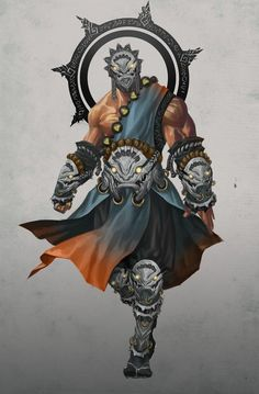 concept warrior: