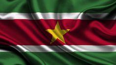 Flag of Suriname wallpaper