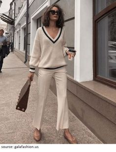 Street Style Outfits, Spring Street Style, Mode Outfits, Fashion Outfits, Spring Street Fashion, Classy Street Style, Parisian Chic Style, Classy Style, Street Chic