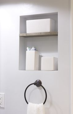 Very Simple And Modern Built In Shelf Between Studs For A Modern Bathroom.  Like The · Medicine Cabinet ... Part 43