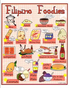 Cute chibi pinoy food pictures!