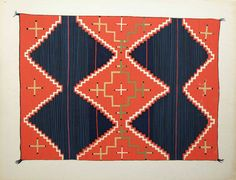 Navajo blankets, Russell Vernon Hunter Chapman of the Library of Anthropology in Santa Fe Native American Blanket, Native American Rugs, Native American Design, American Indian Art, Textiles, Textile Patterns, Navajo Weaving, Navajo Rugs, Design Blog