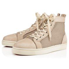 AC LOUIS VEAU VELOURS RETENET Galet Fishnet - Men Shoes - Christian  Louboutin a9da23c74fcb
