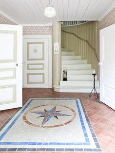 The compass would look great in a nautical themed bathroom