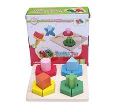Sortator forme si puzzle din lemn complex Ham, Coasters, Puzzle, Puzzles, Hams, Coaster, Puzzle Games, Riddles