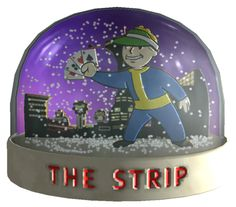 Fallout: New Vegas The Strip Snowglobe