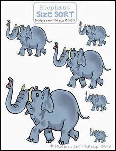 * Olifanten:  Van klein naar groot!