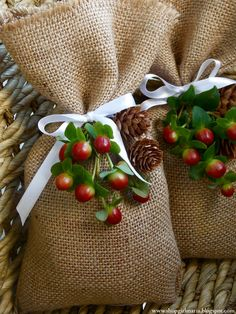 Easy DIY Burlap Treat Bags