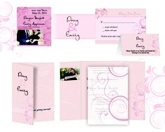 Fancy Blossom stationery suite