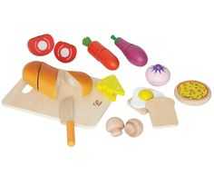 Amazon.com: Hape - Playfully Delicious - Chef's Choice Food Play Set: Toys & Games