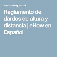 Reglamento de dardos de altura y distancia | eHow en Español