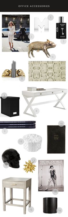MadeByGirl: DESIGN: CHIC OFFICE ACCESSORIES