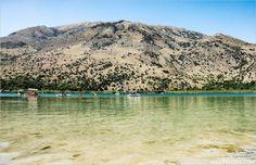 Lac de Kournas en Crète