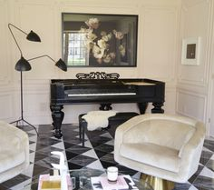 christine dovey piano room one room challenge