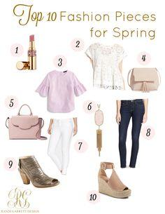 Top 10 Home Decor and Fashion Pieces for Spring - Randi Garrett Design