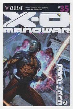 X-O Manowar #35 Jorge Molina Variant Cover (2015)