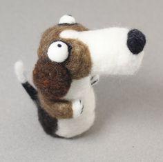Needle felting Dog kit. $24.00, via Etsy.