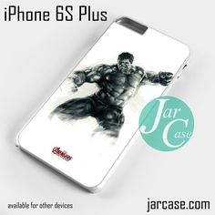 The Hulk & the Avenger Phone case for iPhone 6S Plus and other iPhone devices