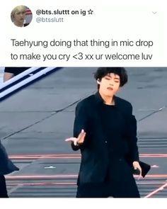 someone kill me 😂 Bts Funny Videos, Bts Memes Hilarious, Bts Taehyung, Bts Bangtan Boy, V Bts Cute, Bts Dancing, V Bts Wallpaper, Bts Tweet, Album Bts