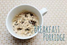 Porridge | Breakfast Porridge, Cereal, Oatmeal, Food, Essen, Yemek, Breakfast Cereal, Corn Flakes, Eten