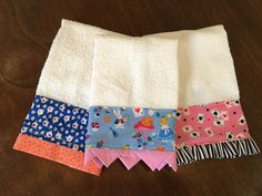 Decorated Hand Towel by Pam